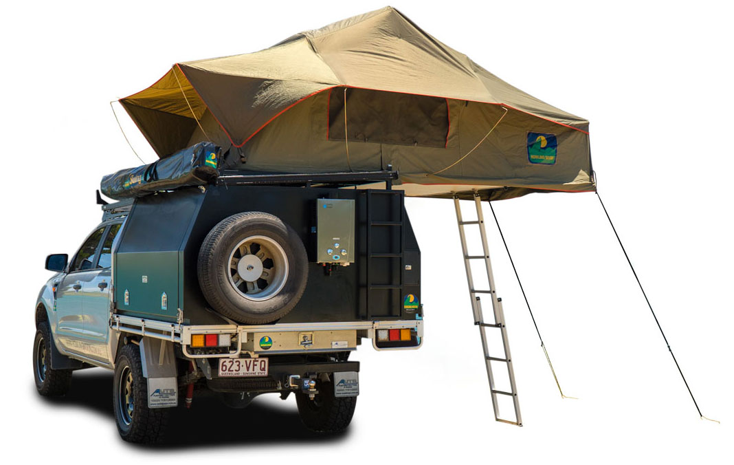 howling moon stargazer roof top tent