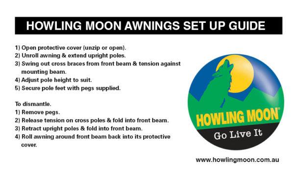 Alu Awning Howling Moon
