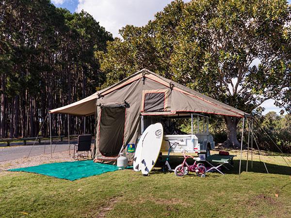 Howling Moon XT Deluxe trailer tent & Deluxe XT Trailer Top Tent - Howling Moon